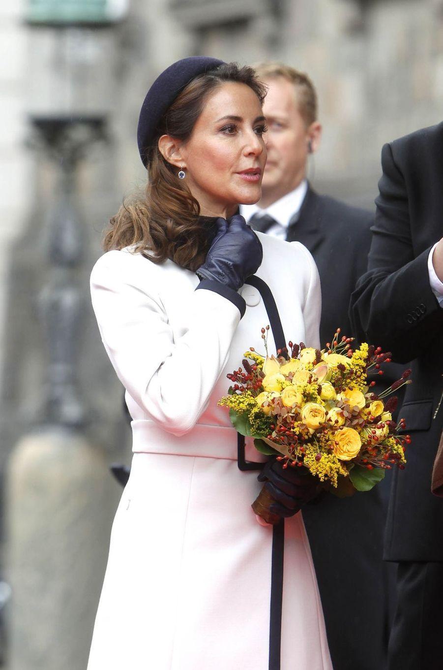La princesse Marie de Danemark à Copenhague, le 2 octobre 2018
