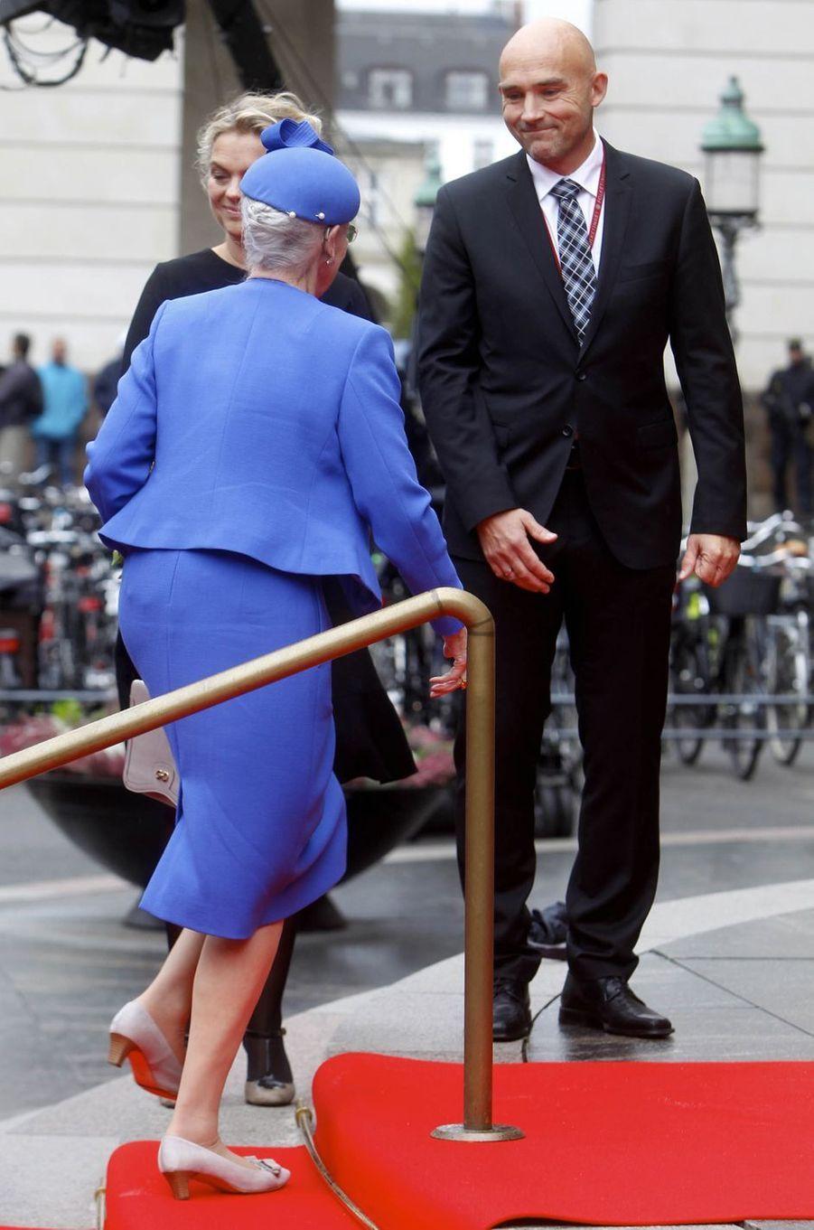 La reine Margrethe II de Danemark à Copenhague, le 2 octobre 2018