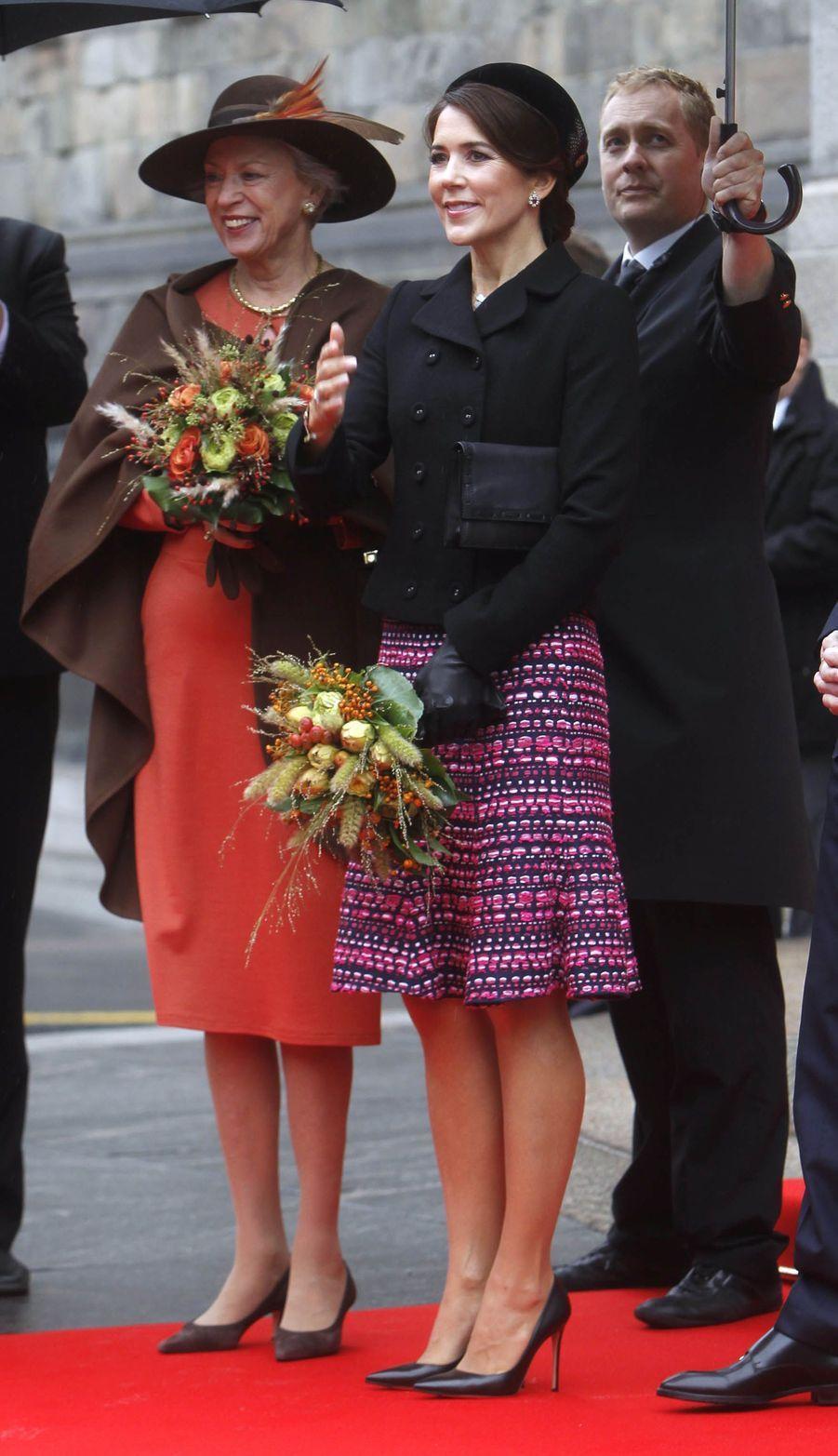 Les princesses Benedikte et Mary de Danemark à Copenhague, le 2 octobre 2018