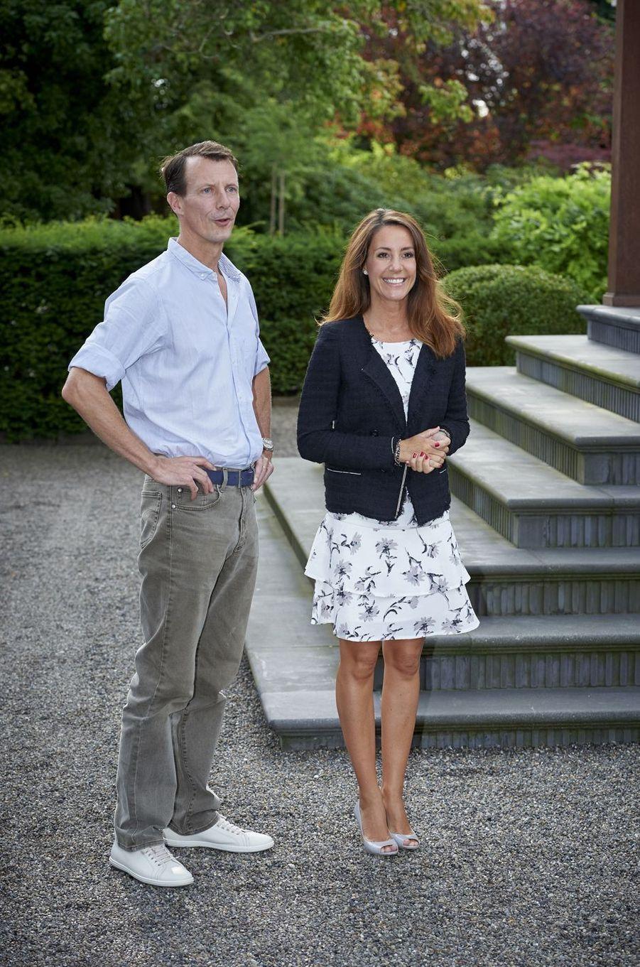 La princesse Marie et le prince Joachim de Danemark à Copenhague, le 11 août 2017