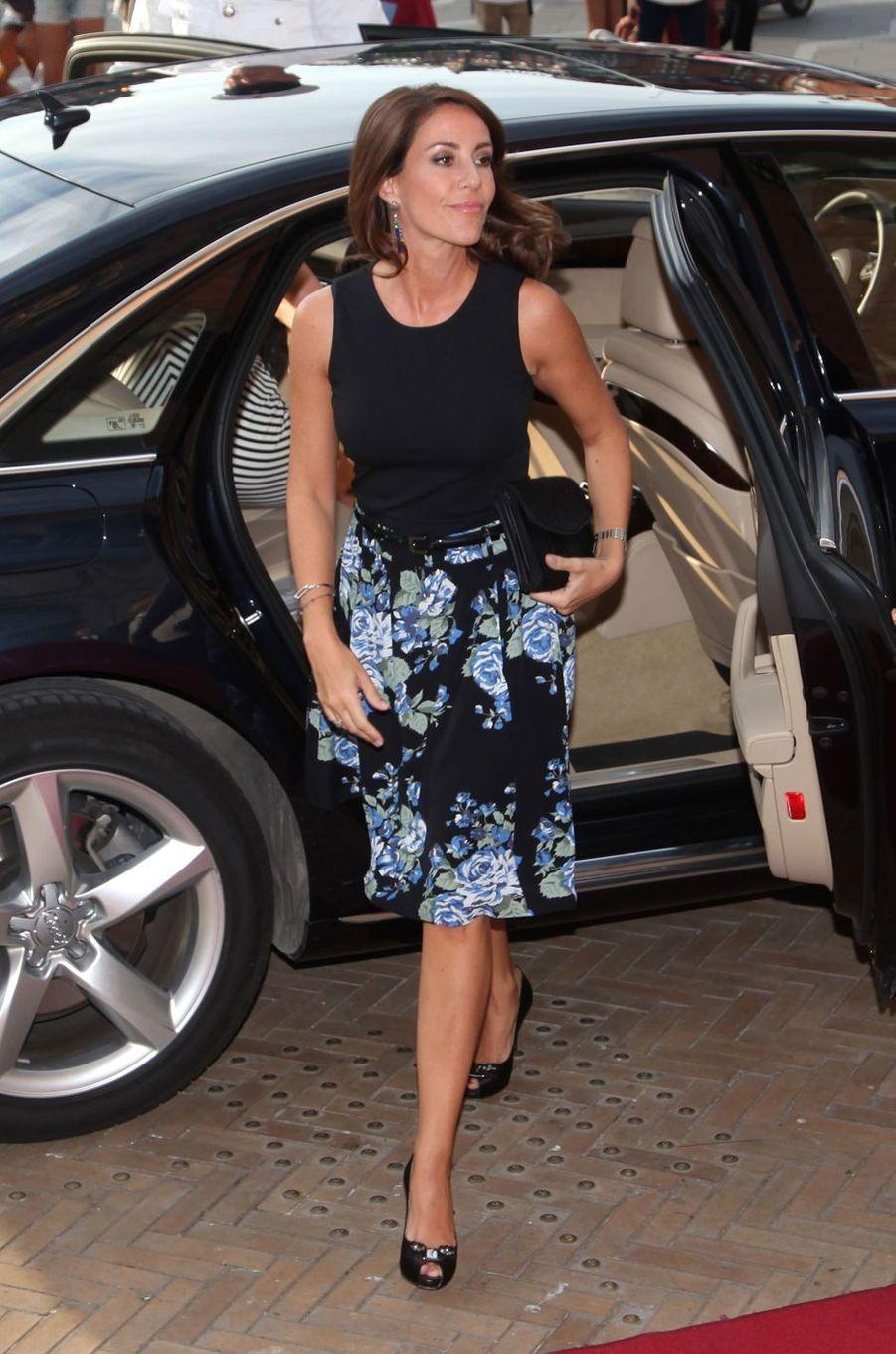 La princesse Marie de Danemark à Copenhague, le 25 août 2016