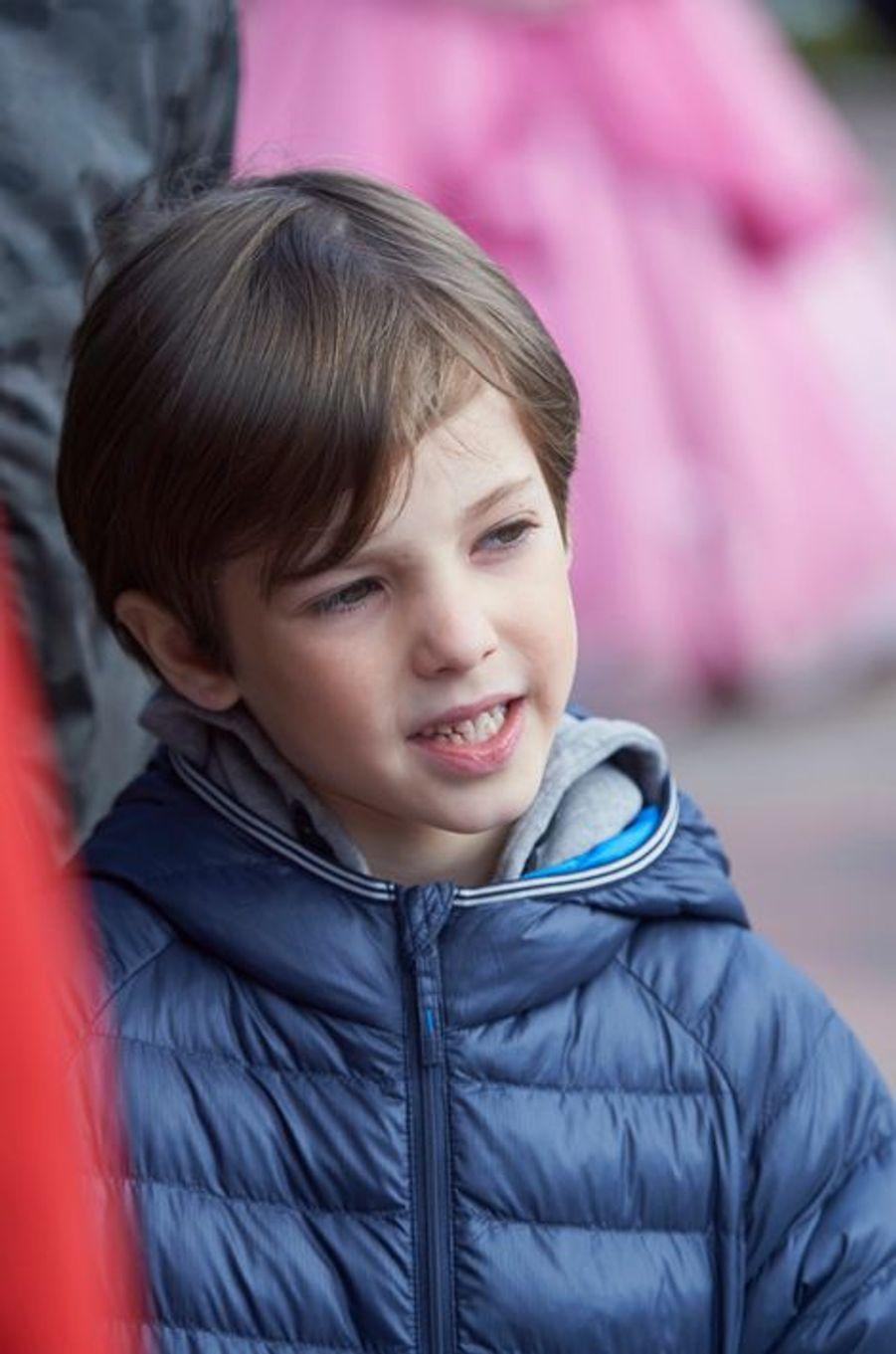 Le prince Henrik de Danemark au Legoland de Billund, le 19 mars 2016
