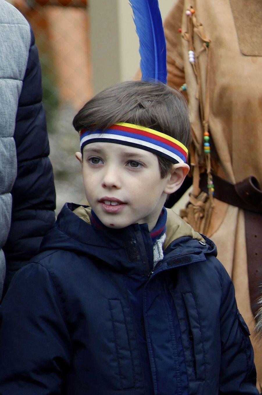 Le prince Henrik de Danemark au Legoland Billund, le 24 mars 2018