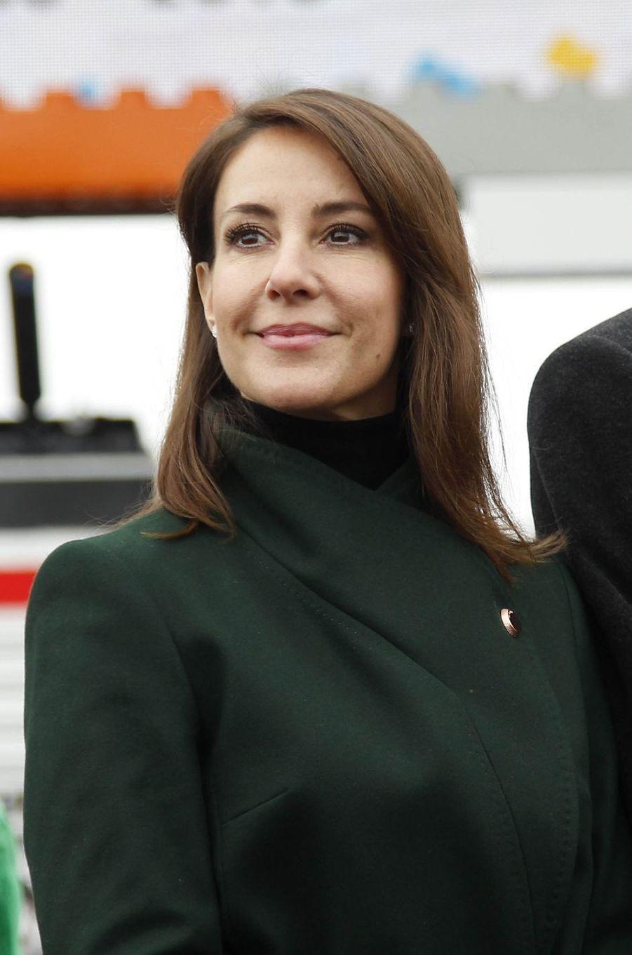 La princesse Marie de Danemark au Legoland Billund, le 24 mars 2018