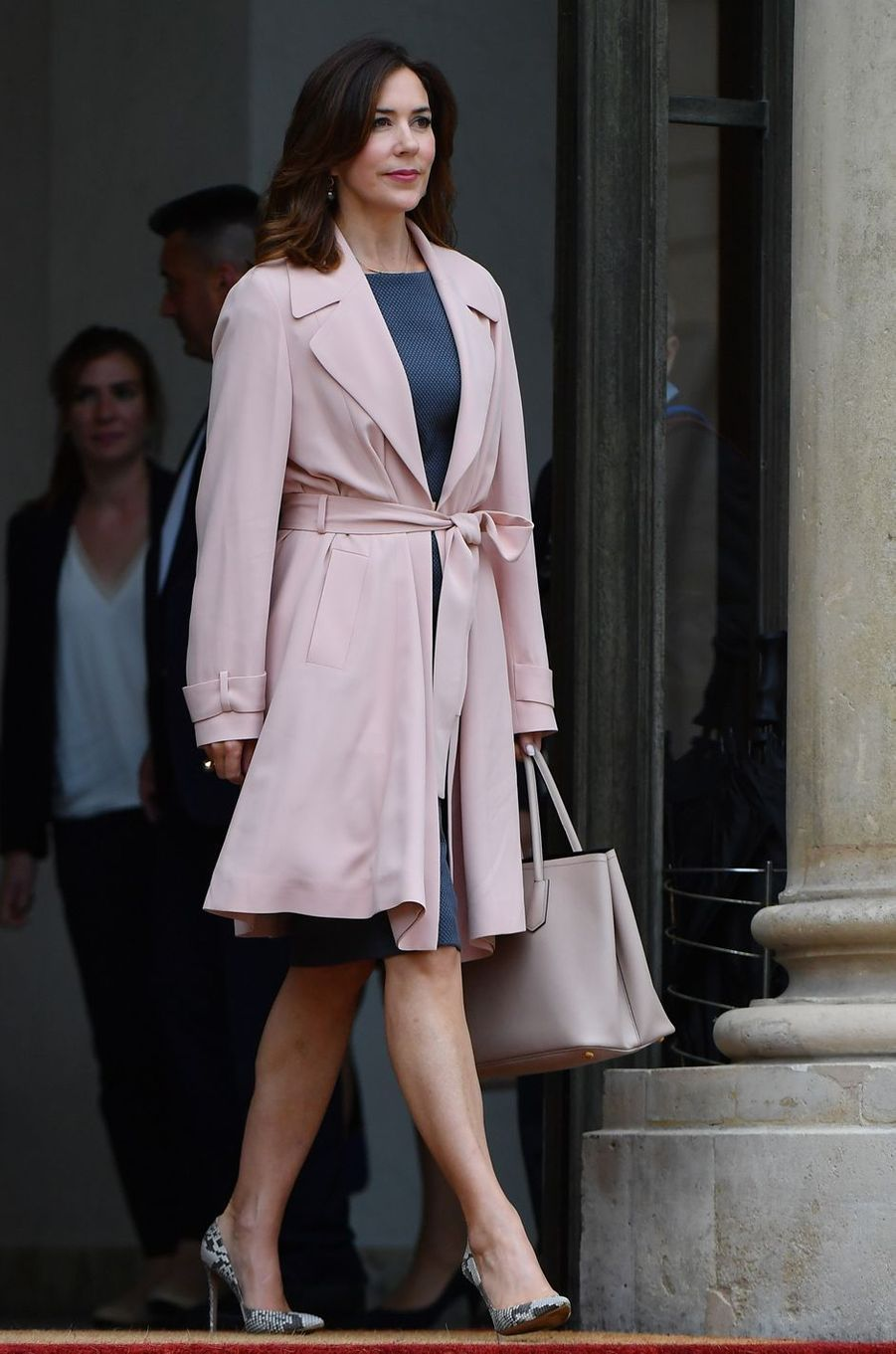 La princesse Mary de Danemark à Paris, le 6 juin 2017