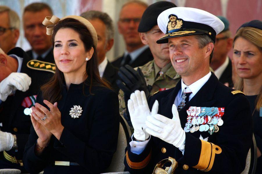 La princesse Mary et le prince Frederik de Danemark à Copenhague, le 5 septembre 2016
