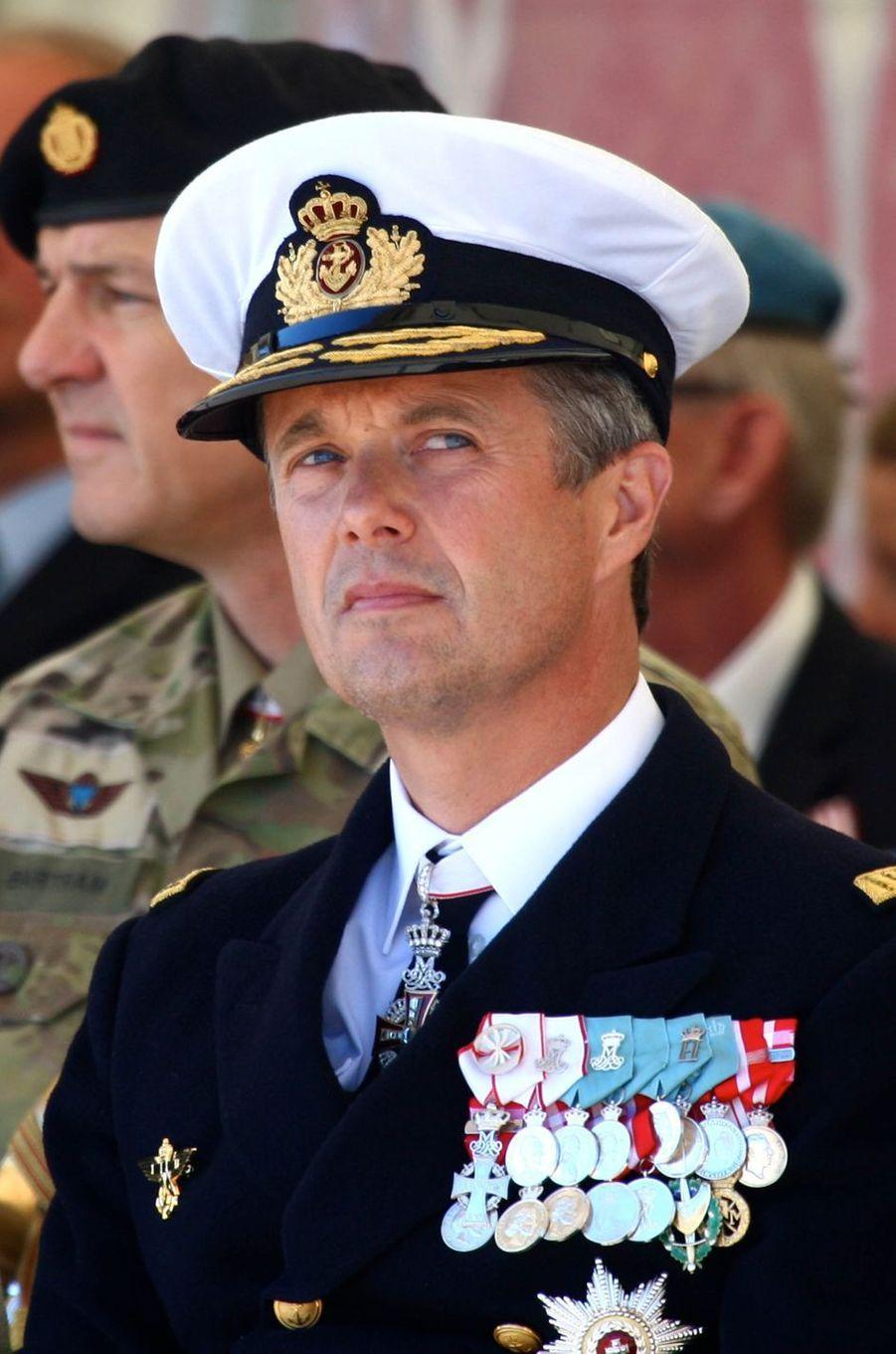 Le prince Frederik de Danemark à Copenhague, le 5 septembre 2016