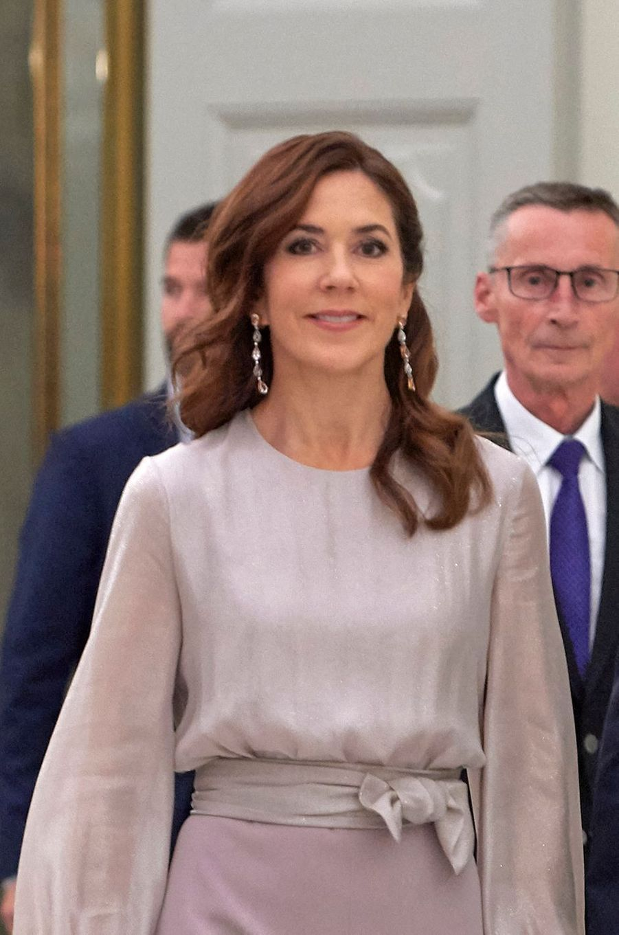 La princesse Mary de Danemark à Copenhague, le 11 octobre 2019