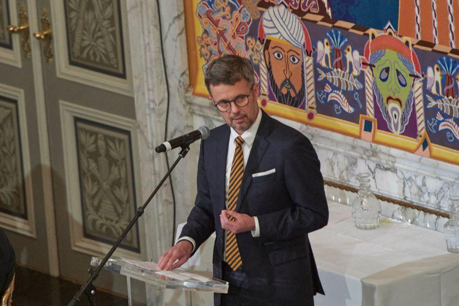 Le prince Frederik de Danemark à Copenhague, le 11 octobre 2019