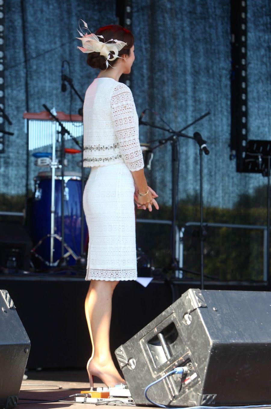La princesse Mary de Danemark à Glostrup, le 27 août 2016