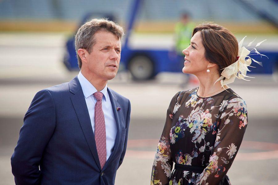 La princesse Mary et le prince Frederik de Danemark à Copenhague, le 15 juin 2017
