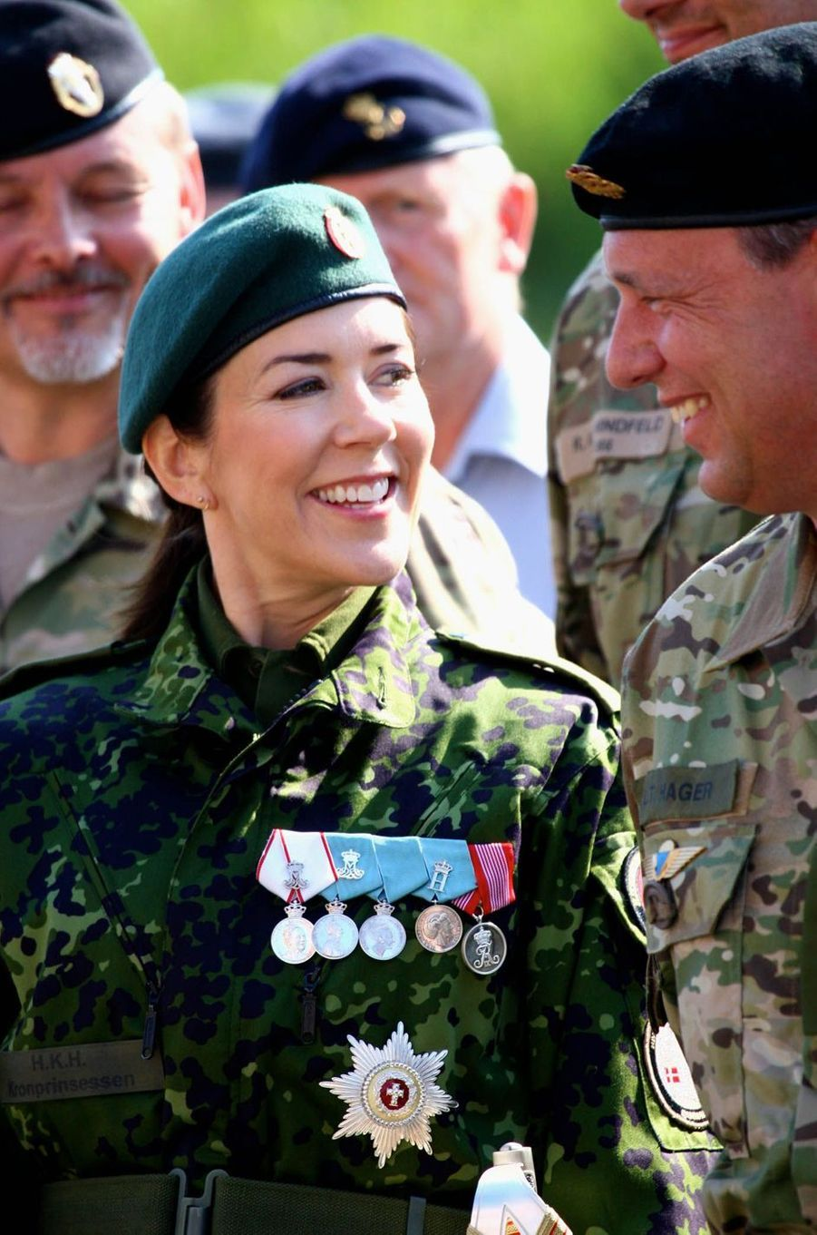La princesse Mary de Danemark à Fredericia, le 5 juin 2016