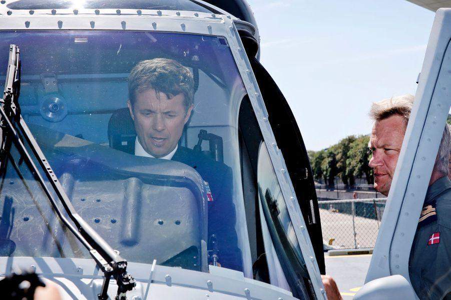 Le prince Frederik de Danemark à Copenhague, le 6 juin 2016