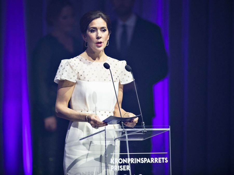 La princesse Mary de Danemark à Aalborg, le 24 novembre 2018