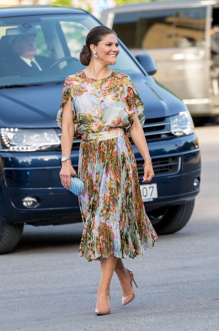 La princesse Victoria de Suède à Stockholm, le 29 mai 2017