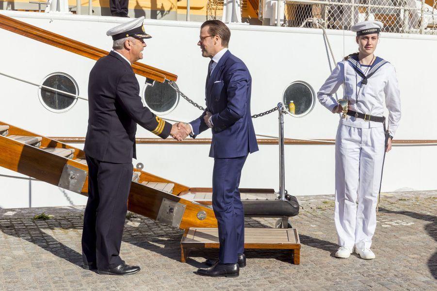 Le prince Daniel de Suède à Stockholm, le 29 mai 2017