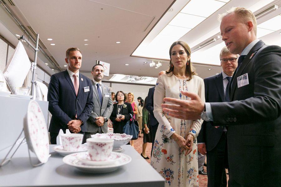 La princesse Mary de Danemark à Tokyo, le 11 octobre 2017