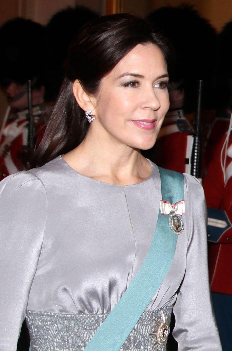 La princesse Mary de Danemark à Copenhague, le 3 janvier 2017