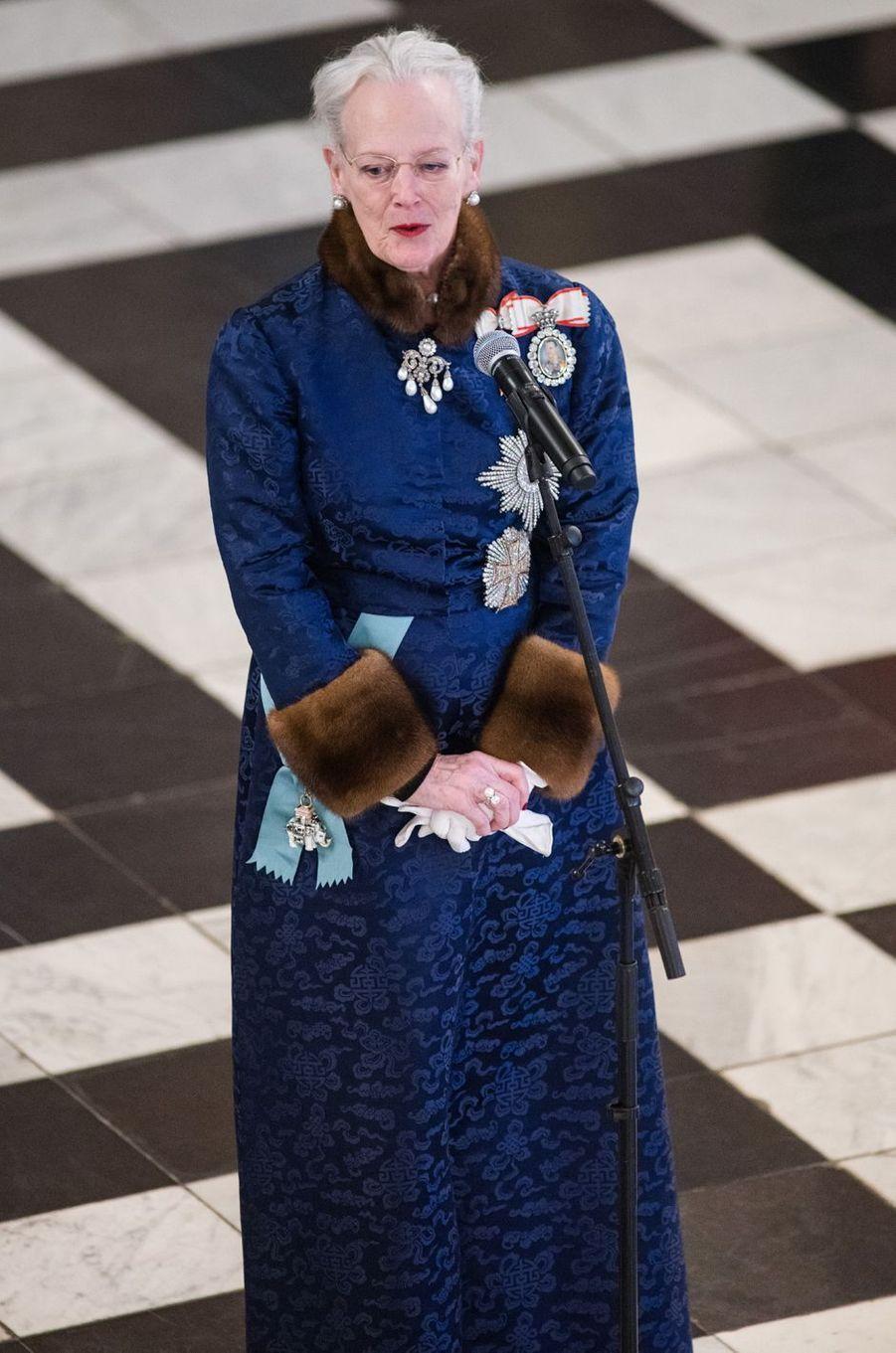 Mary Frederik Margrethe Danemark Copenhague 3 Janv 2017 9