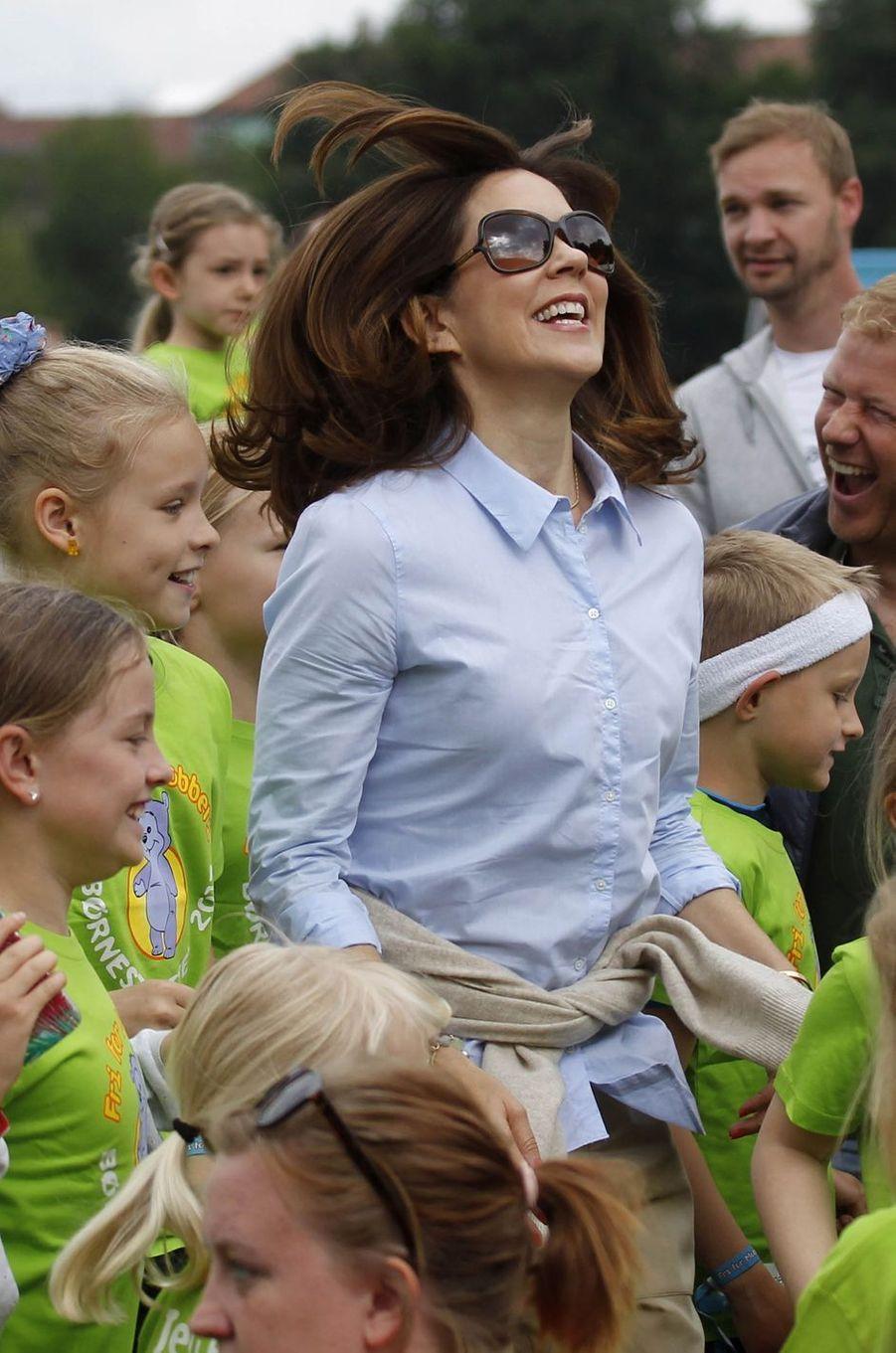 La princesse Mary de Danemark à Copenhague, le 10 juin 2017
