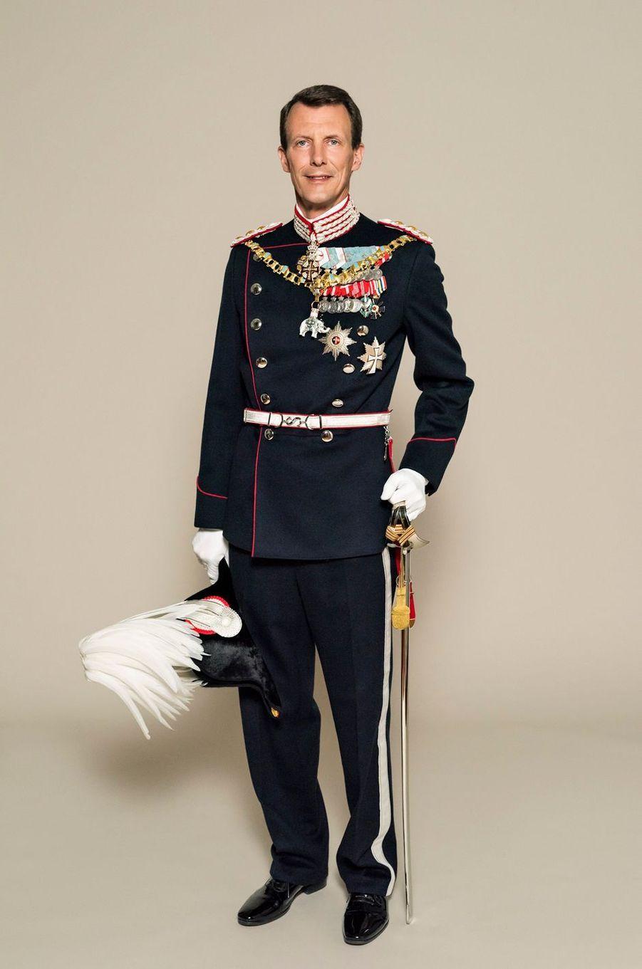 Le prince Joachim de Danemark. Photo diffusée le 7 juin 2018