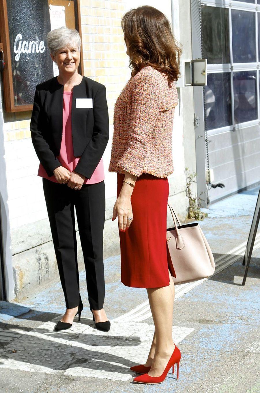 La princesse Mary de Danemark à Copenhague, le 8 juin 2017