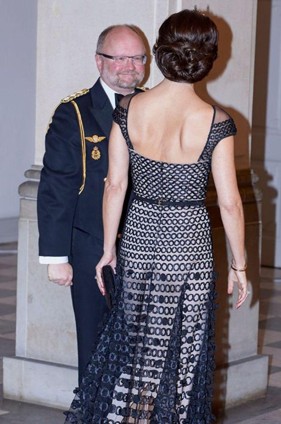 La princesse Mary de Danemark au château de Christiansborg à Copenhague, le 15 mars 2016