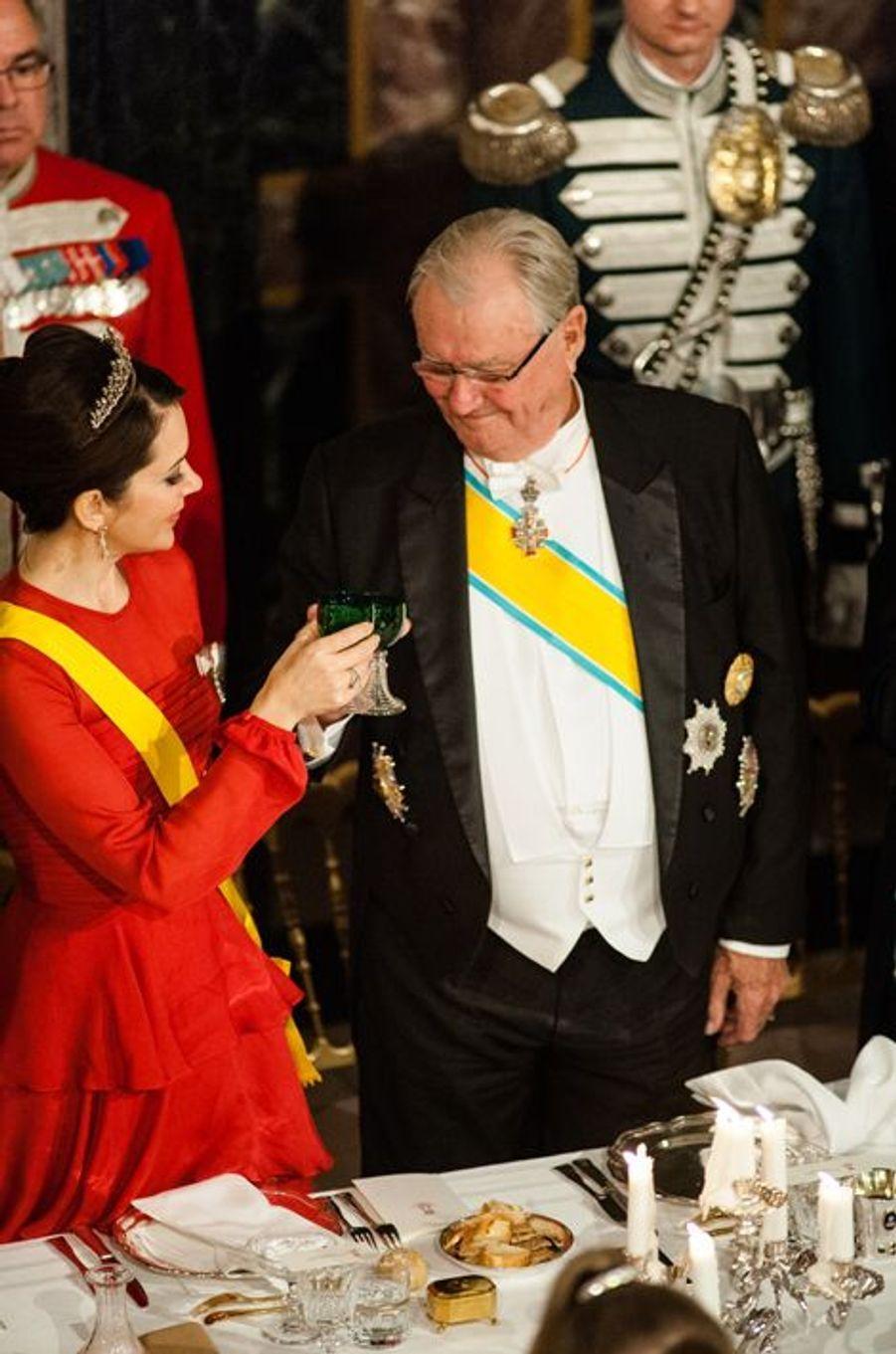 La princesse Mary et le prince consort Henrik de Danemark à Fredensborg, le 13 avril 2016