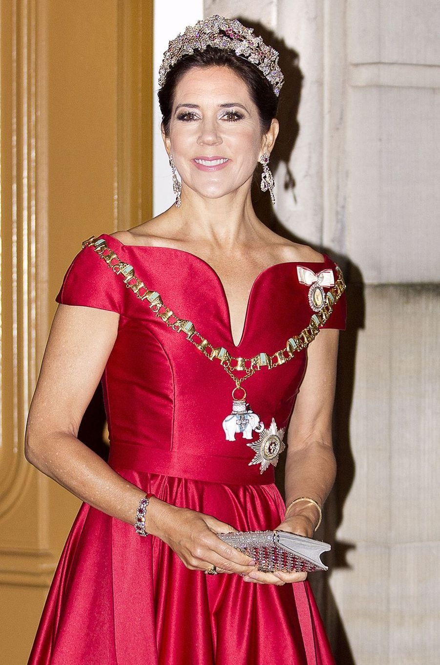 La princesse Mary de Danemark à Copenhague, le 1er janvier 2018