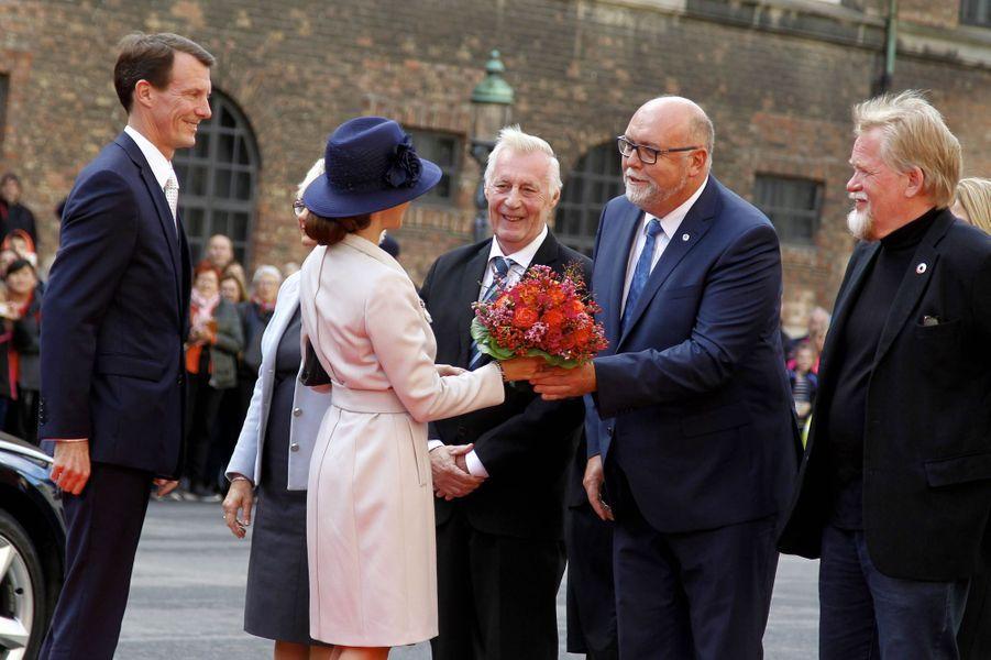 La princesse Marie et le prince Joachim de Danemark à Copenhague, le 3 octobre 2017