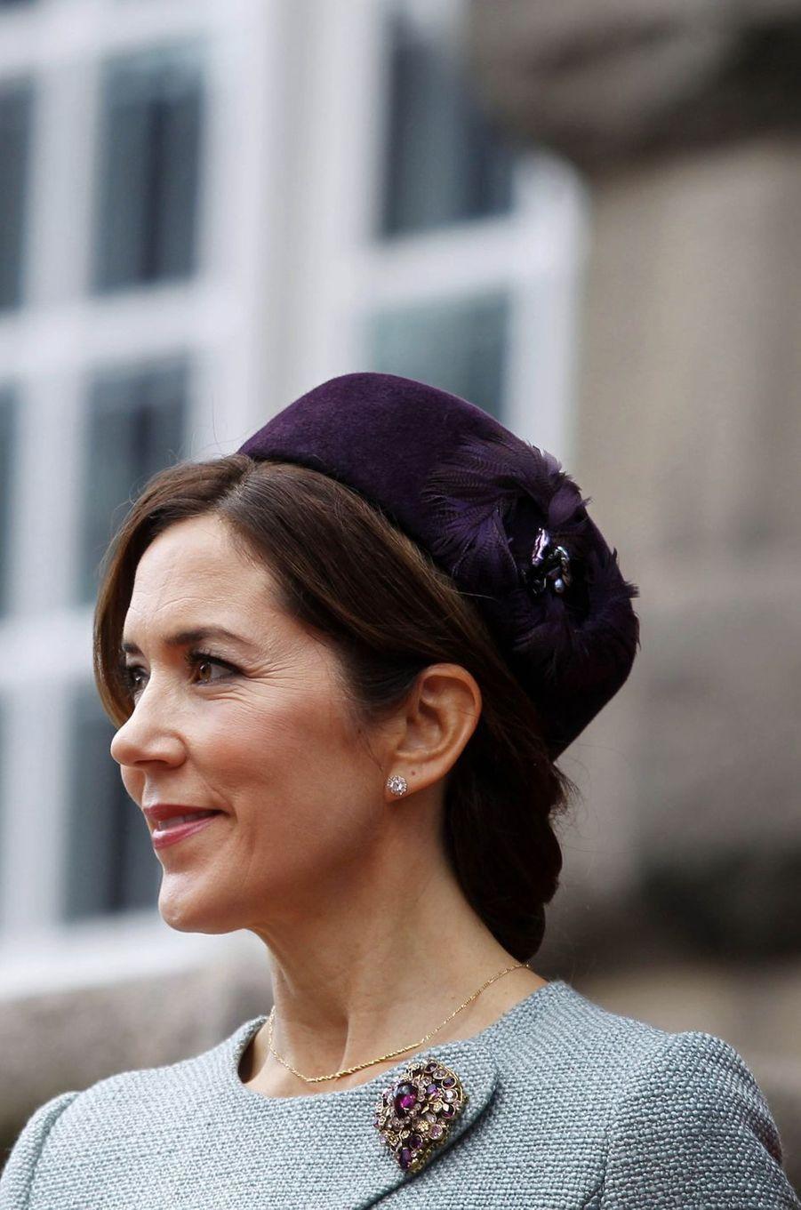 La princesse Mary de Danemark à Copenhague, le 3 octobre 2017