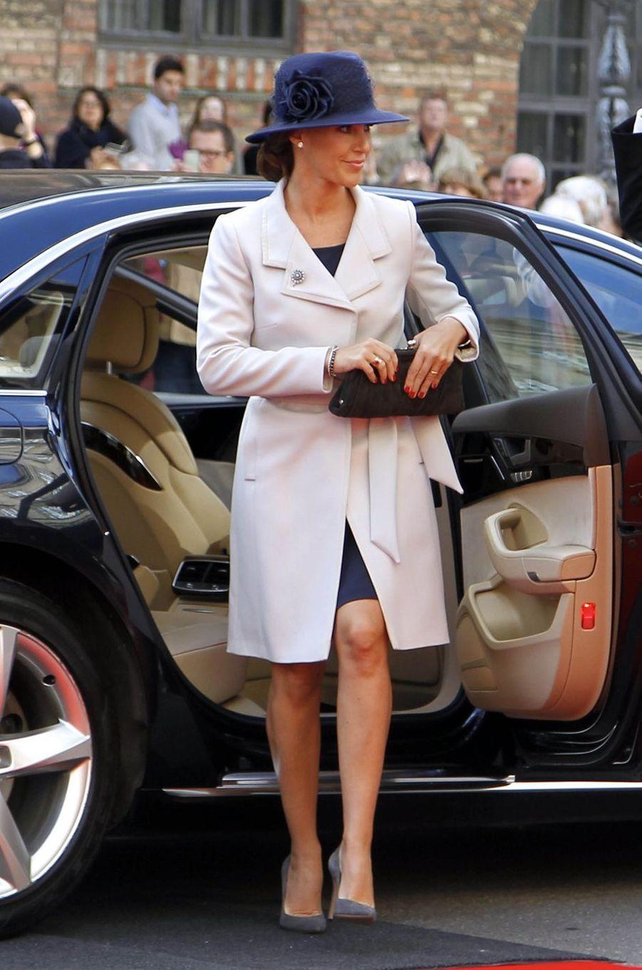 La princesse Marie de Danemark à Copenhague, le 3 octobre 2017