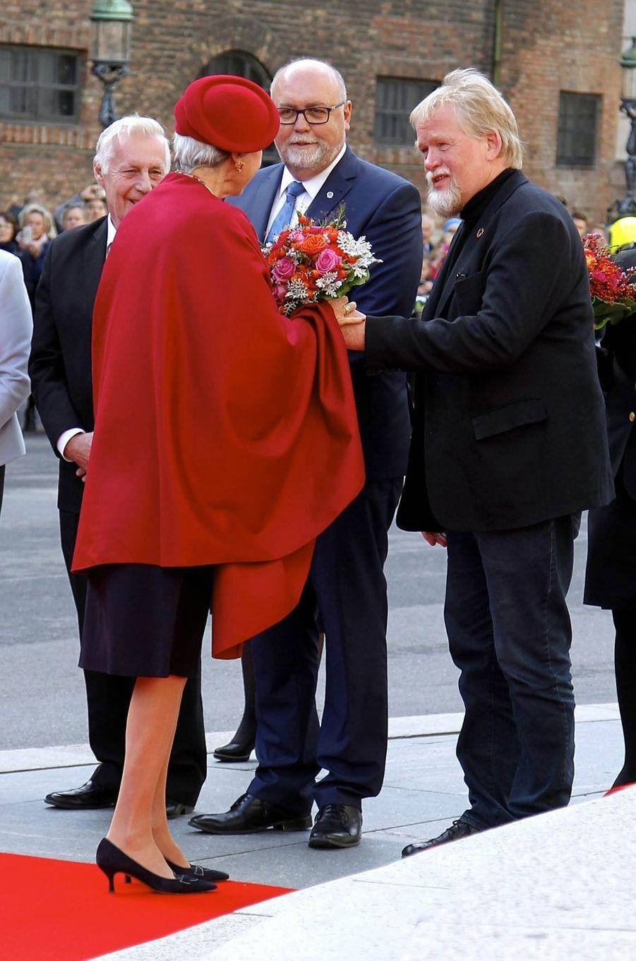 La princesse Benedikte de Danemark à Copenhague, le 3 octobre 2017