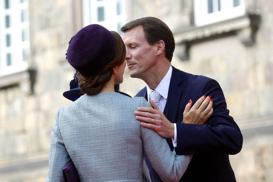 La princesse Mary et le prince Joachim de Danemark à Copenhague, le 3 octobre 2017