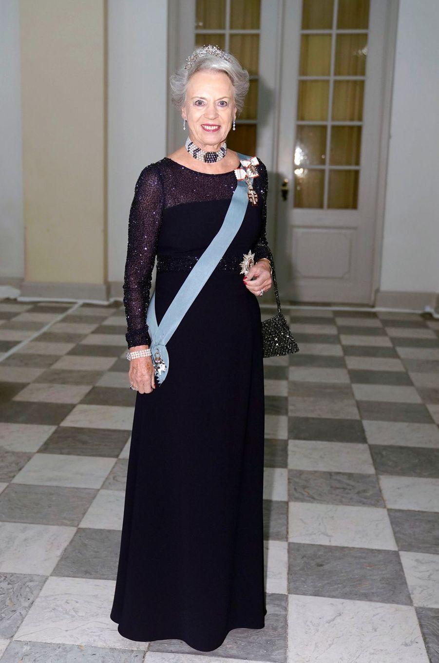 La princesse Benedikte de Danemark à Copenhague, le 24 octobre 2018