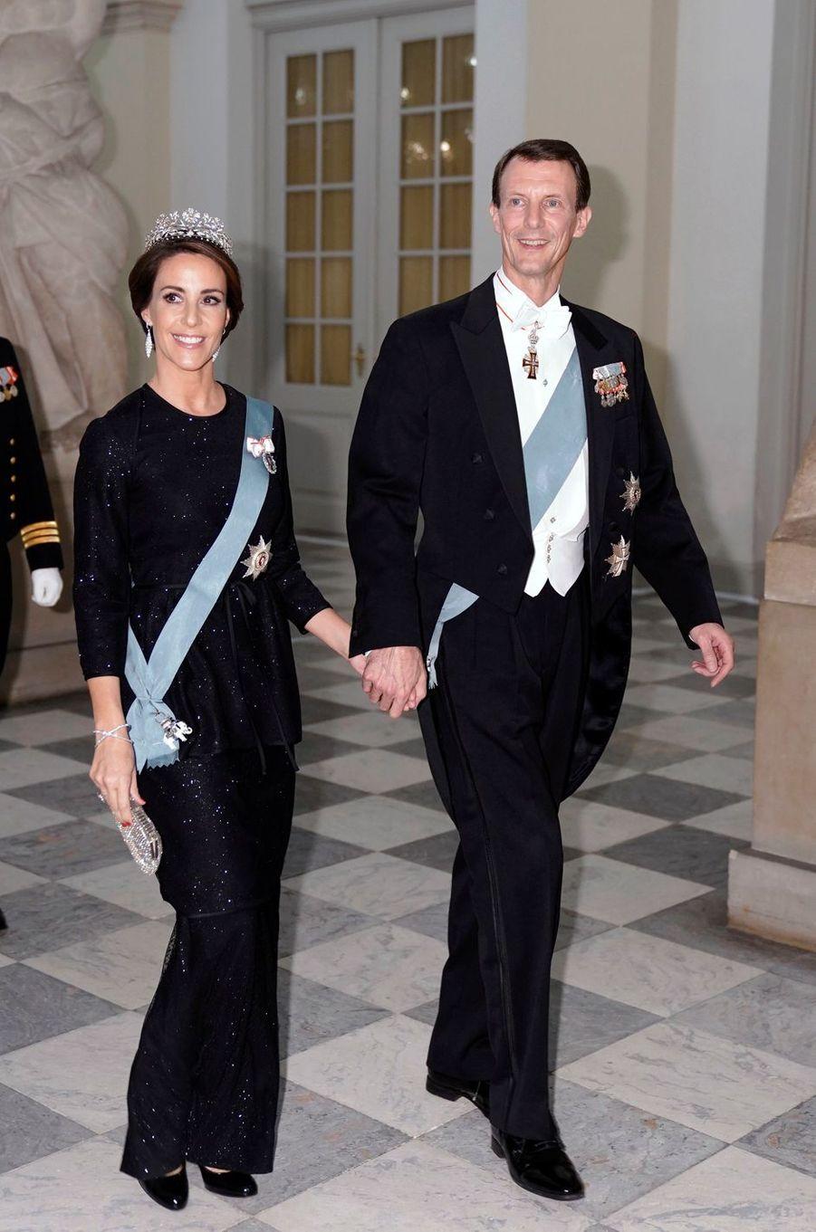 La princesse Marie et le prince Joachim de Danemark à Copenhague, le 24 octobre 2018