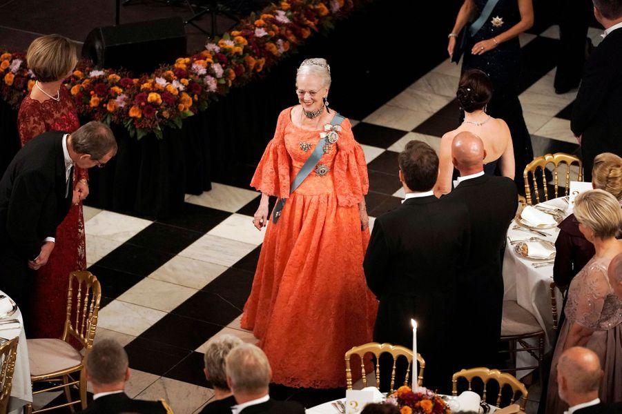 La reine Margrethe II de Danemark à Copenhague, le 24 octobre 2018
