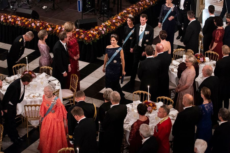 La famille royale de Danemark à Copenhague, le 24 octobre 2018