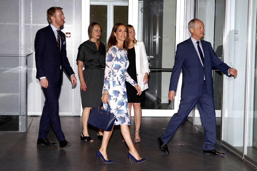La princesse Marie de Danemark à Copenhague, le 15 mai 2018
