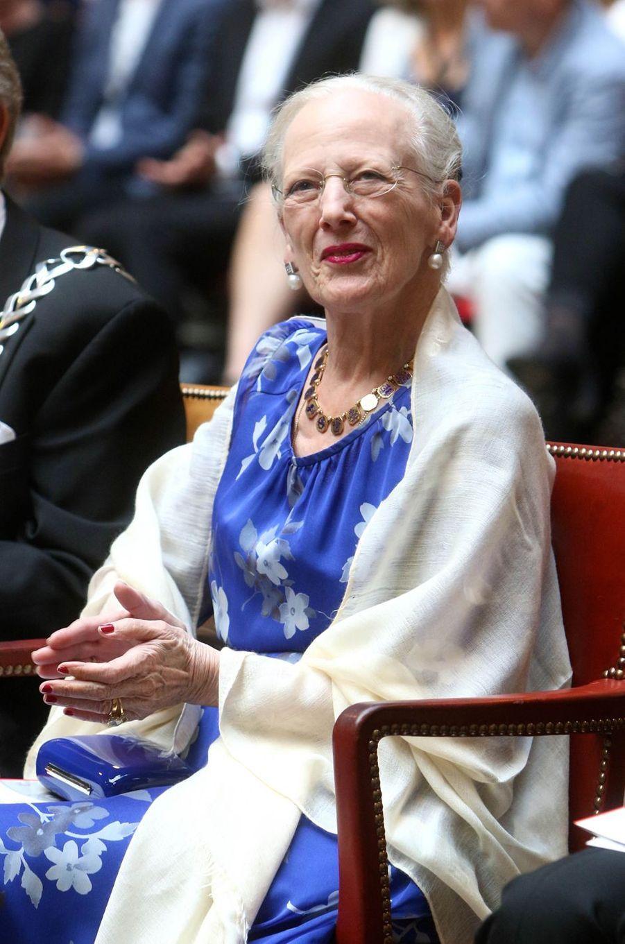 La reine Margrethe II de Danemark à Copenhague, le 15 mai 2018