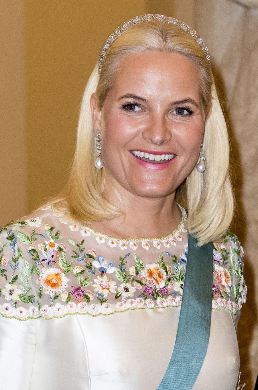 La princesse Mette-Marit de Norvège à Copenhague, le 26 mai 2018