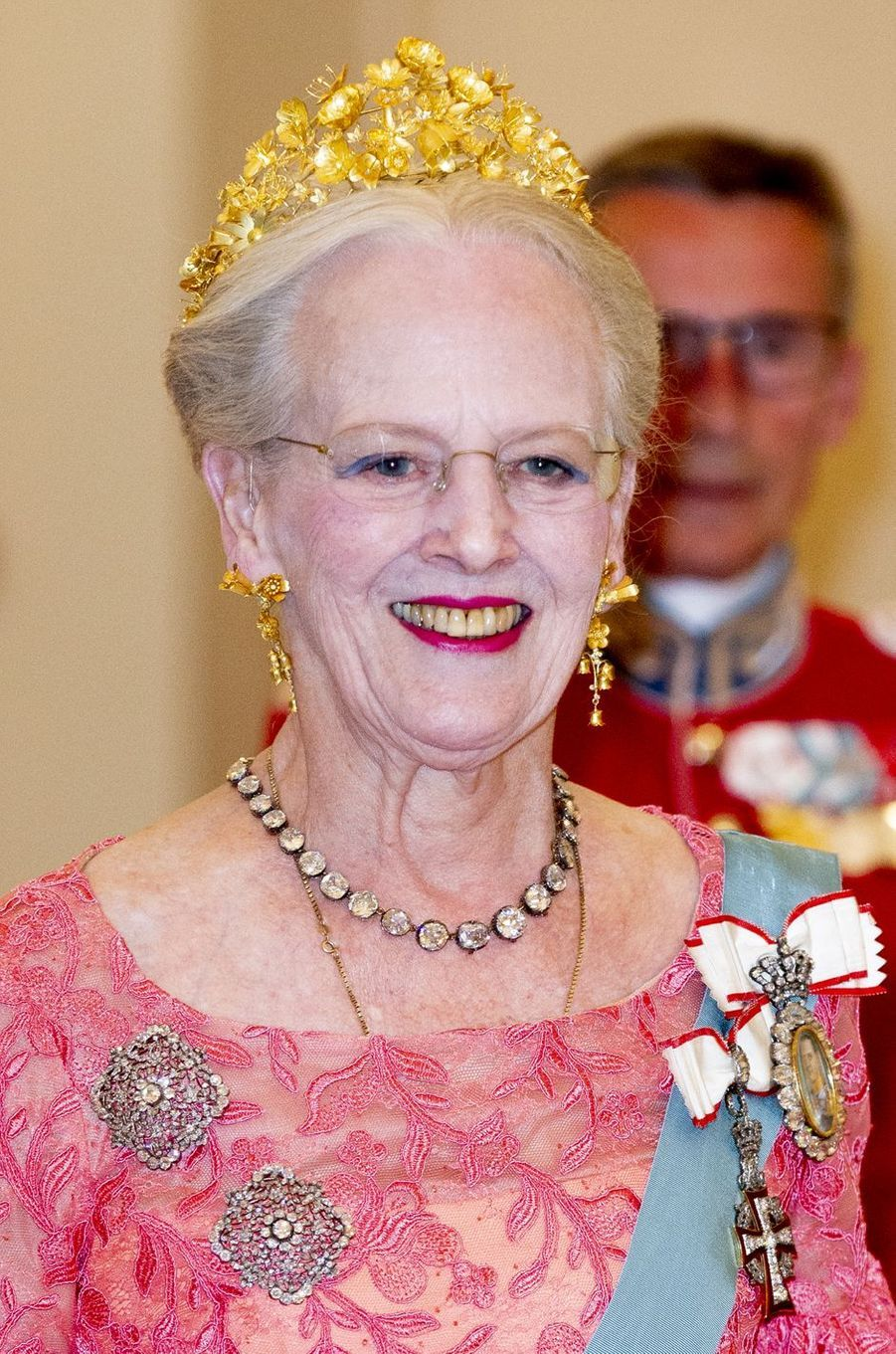 La reine Margrethe II de Danemark à Copenhague, le 26 mai 2018