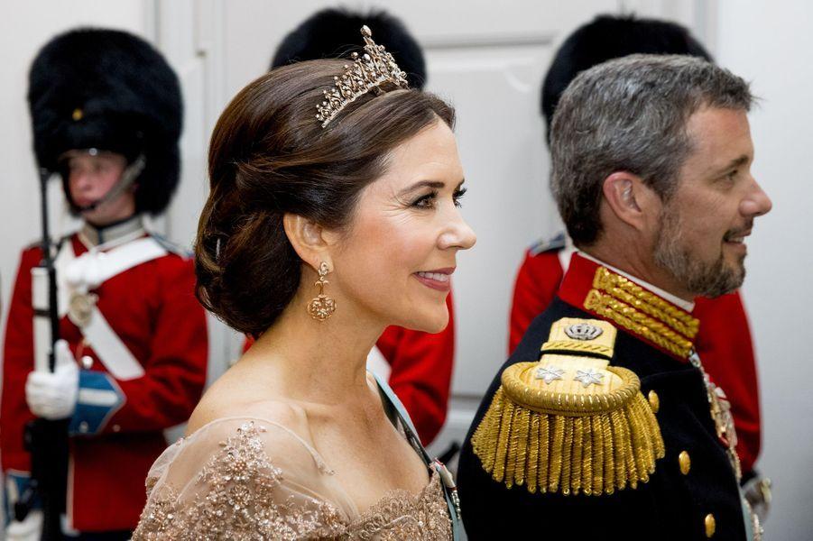 La princesse Mary et le prince Frederik de Danemark à Copenhague, le 26 mai 2018