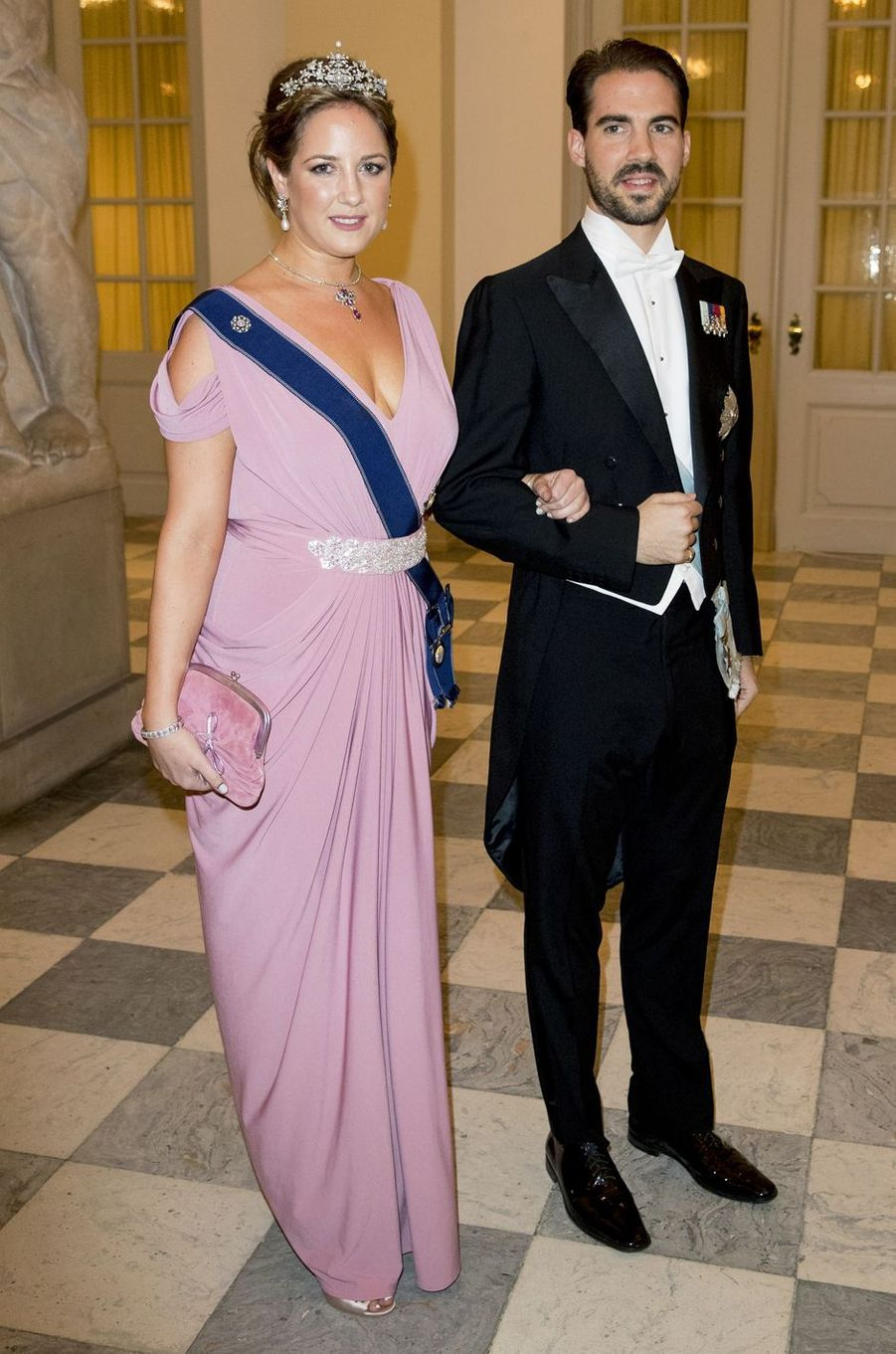 La princesse Tatiana et le prince Nikolaos de Grèce à Copenhague, le 26 mai 2018