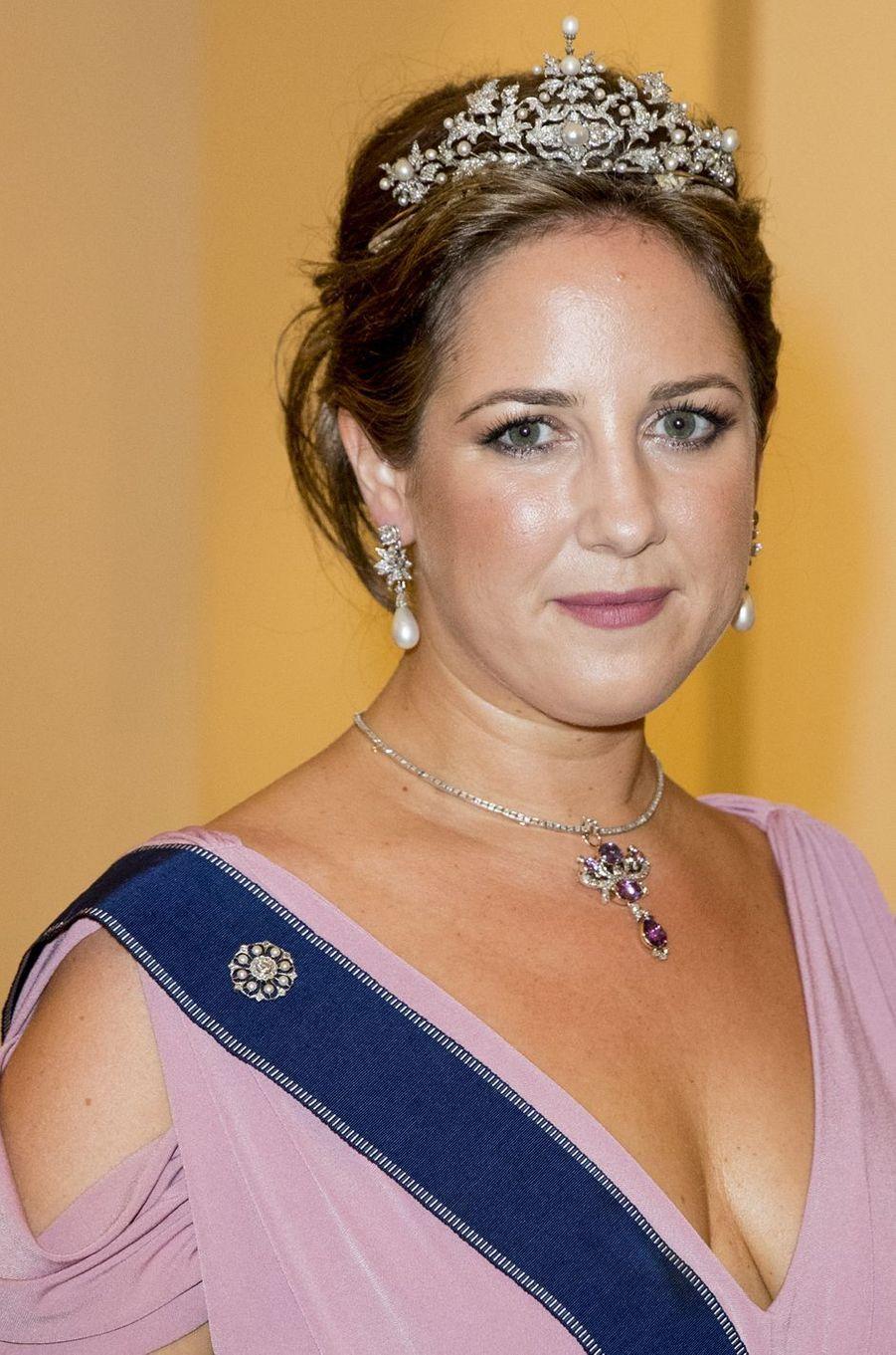 La princesse Tatiana de Grèce à Copenhague, le 26 mai 2018