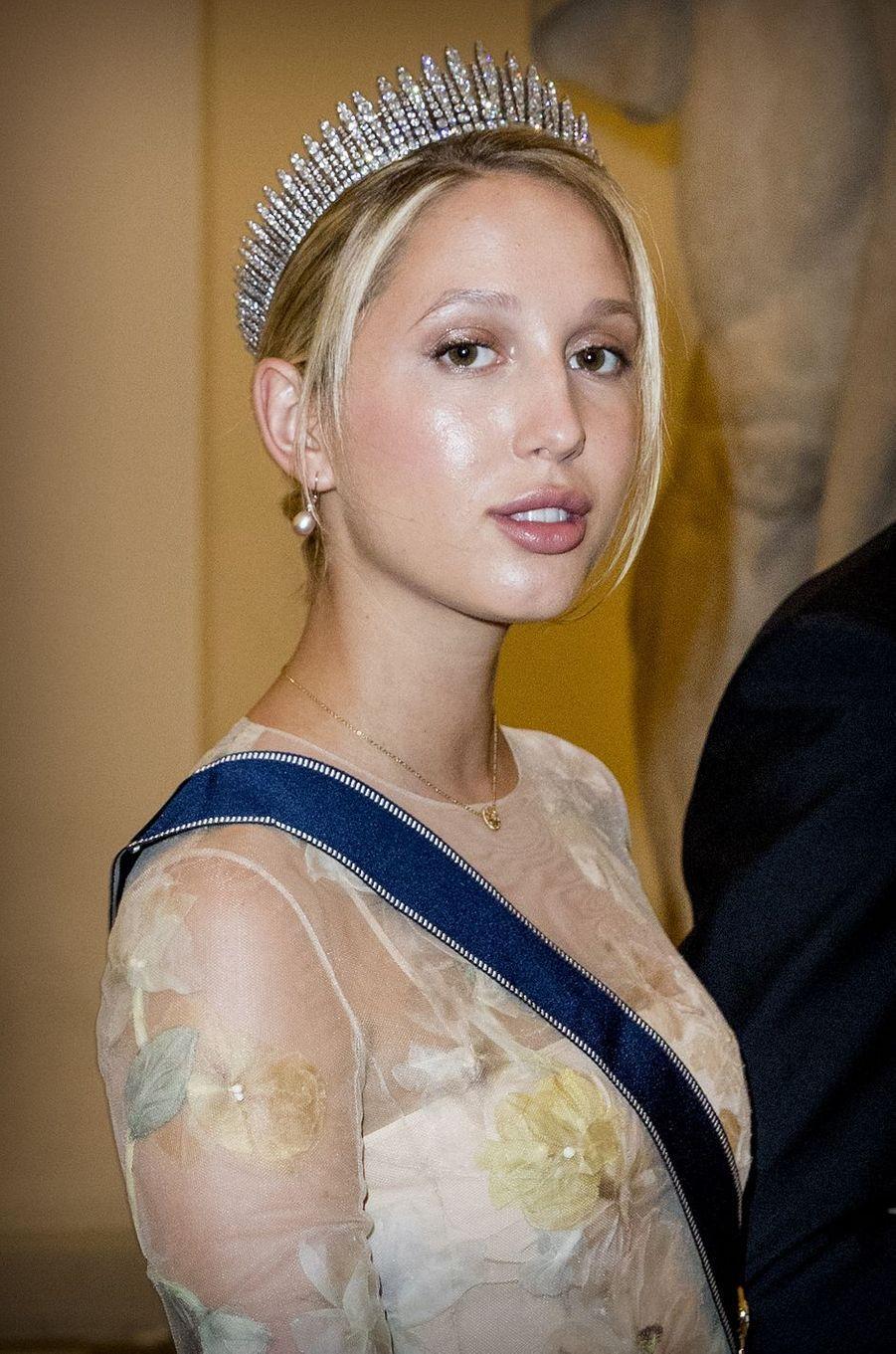 La princesse Maria-Olympia de Grèce à Copenhague, le 26 mai 2018