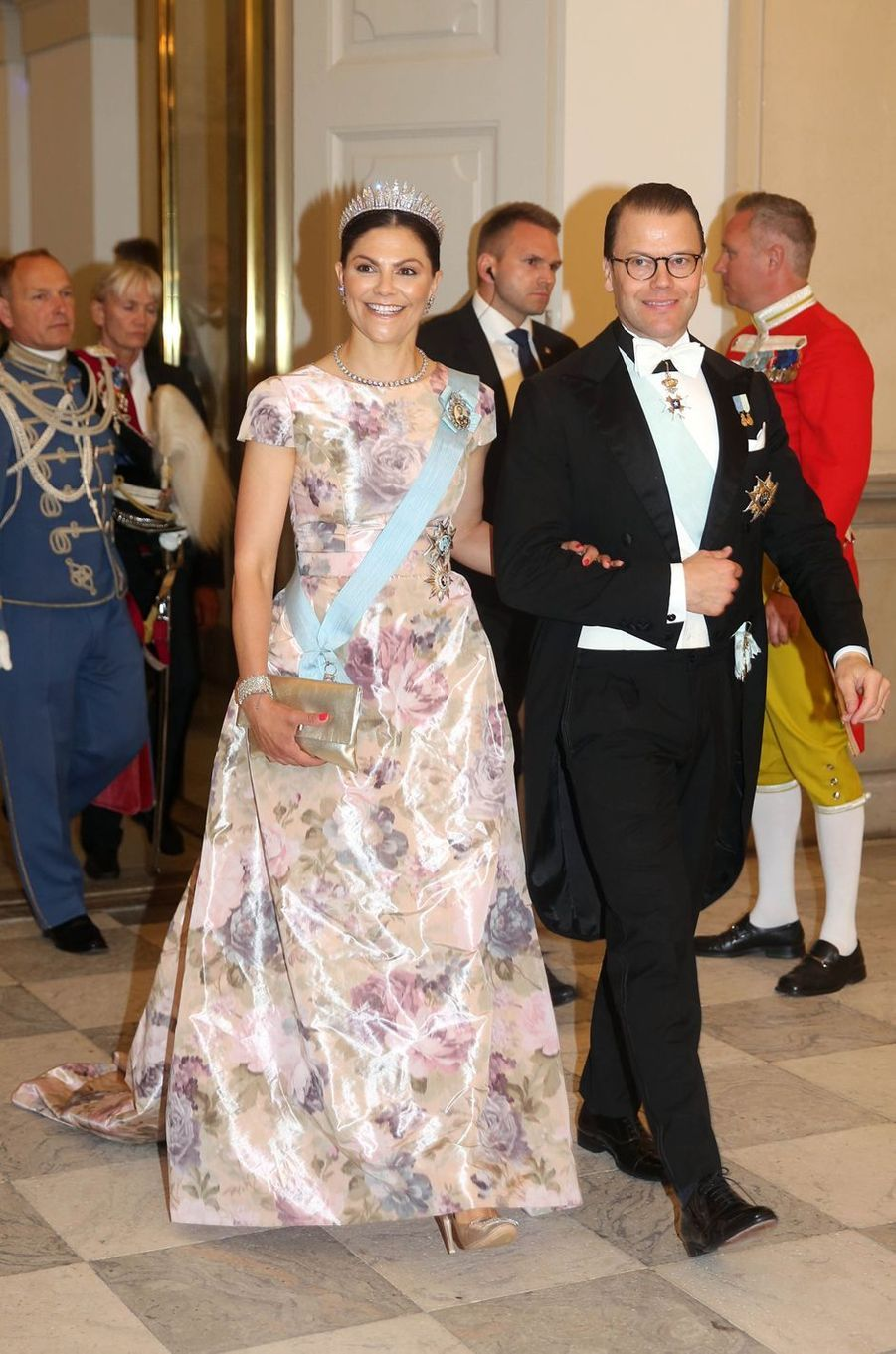 La princesse Victoria de Suède et le prince consort Daniel à Copenhague, le 26 mai 2018