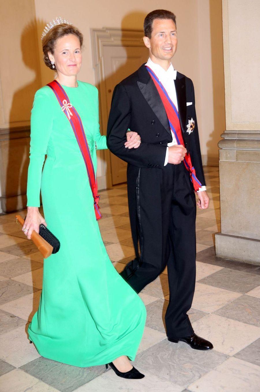 La princesse Sophie et le prince Alois de Liechtenstein à Copenhague, le 26 mai 2018