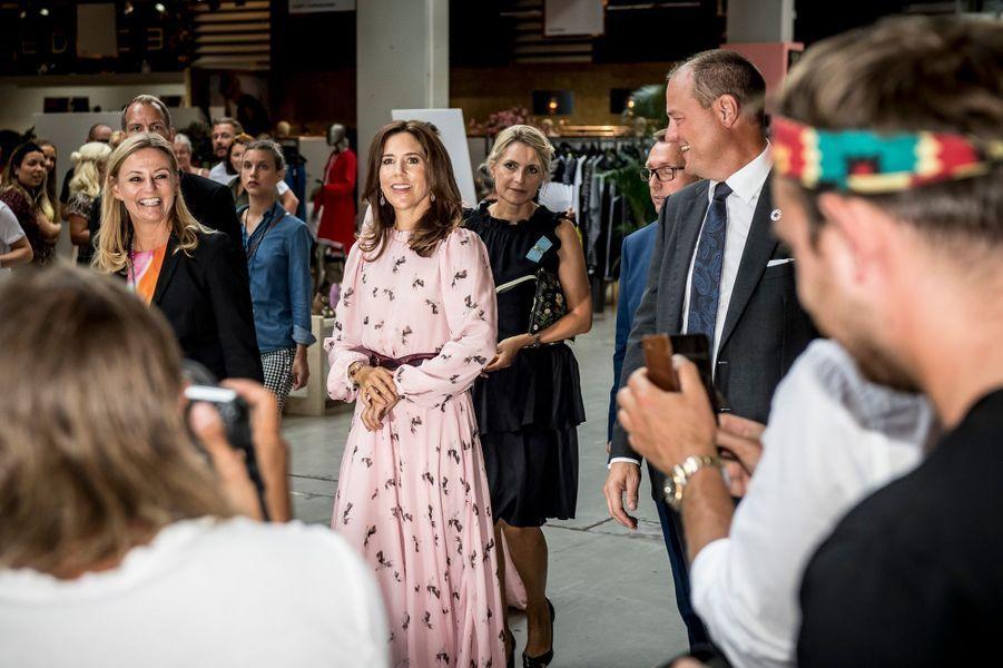 La princesse Mary de Danemark à Copenhague, le 8 août 2018