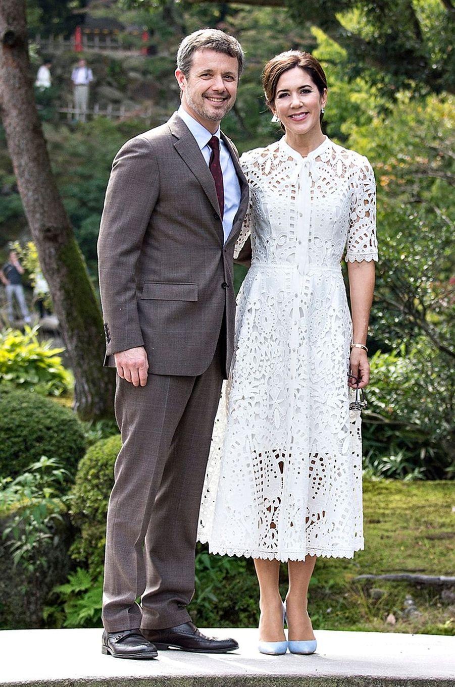 La princesse Mary de Danemark au Japon, le 9 octobre 2017